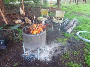 Mooreheads fire drum